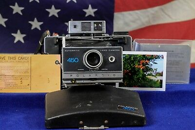 AAA Batteries  Polaroid Land Camera 450  FULLY TESTED Zeiss Upgraded parts