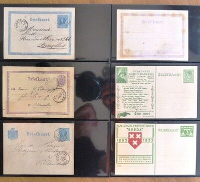 Niederlanden 1870/1931 nice collection of 70 postal stationery , very fine