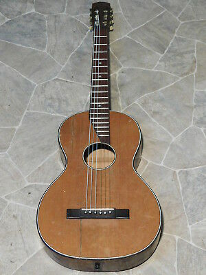 old historic all solid nylon parlor player GUITAR гитара Gitarre Germany 1930s