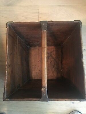 Antique Asian Wooden Rice/Grain basket Excellent condition