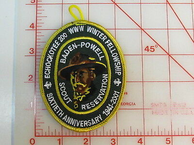 OA Lodge 200 ECHOCKOTEE eX2001-1 Winter Fellowship collectible patch (oU)