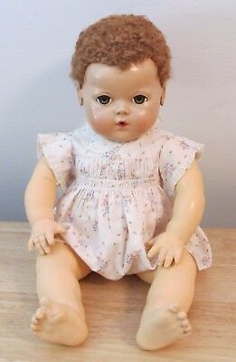 "Vintage Effanbee Dydee Pink Sunsuit For 20"" Doll"