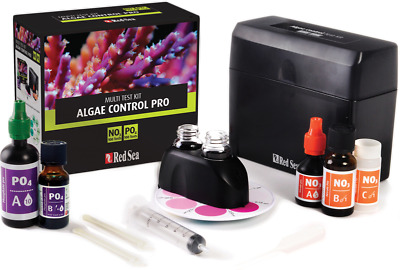 Red Sea Algae Control Pro Test Kit Marine Reef No3/po4 Aquarium Fish Tank