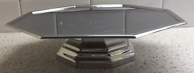 Vintage American Airlines Stainless Cake Stand First Class