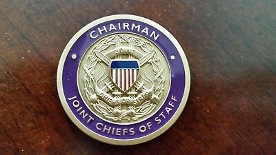 Challenge Coin from Chairman Joint Chiefs of Staff, General Henry H. Shelton