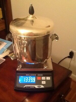 Vintage FB Rogers Silver On Copper Ice Bucket Unweighted 2.95 Pounds