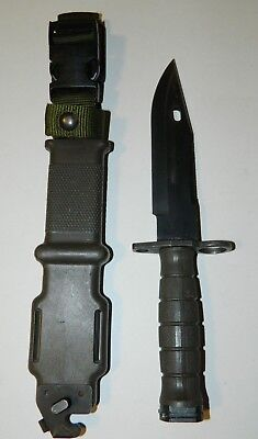 Lan-Cay M9 US Military Fighting Knife & Scabbard Authentic LanCay Good
