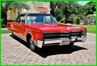 Chrysler 300 Series Convertible 1968 Chrysler 300 Convertible with Power Steering and Brakes
