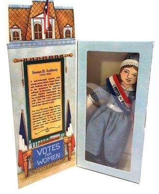 Vtg 1979 Hallmark Famous Americans Doll - Susan B. Anthony - Unopened Mint Cond
