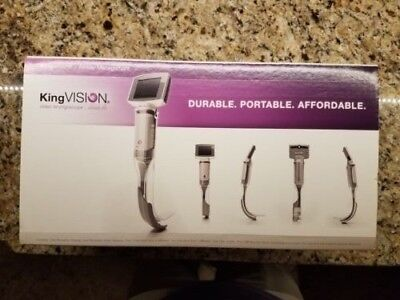 King Vision Video Laryngoscope aBlade Kit, New In Box