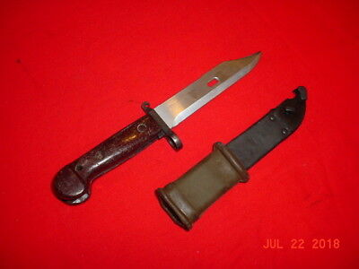 RUSSIAN M1968 SVD BAYONET with WIRE CUTTER