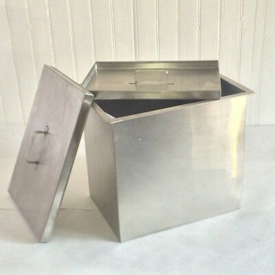 Stainless Steel Sheet FILM Developing Tank Box -Large Format Photography.11x8x10