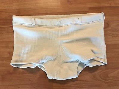 VTG 60s/70s Mens Swim Suit Trunks Speedo Beefcake Italian Booty Briefs Size S/M