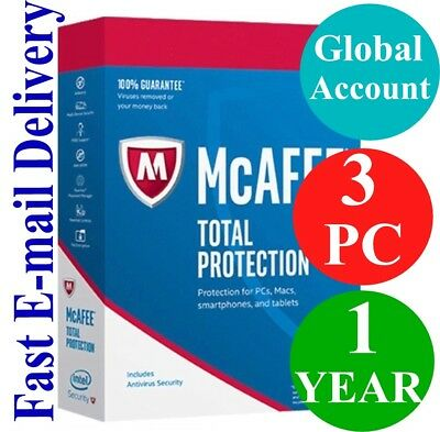 Macs// Smartphones /& Tablets #6126 McAfee LiveSafe Unlimited Protection For PCs