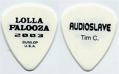 Audioslave Tim Commerford authentic 2003 Guitar Pick RAGE AGAINST THE MACHINE