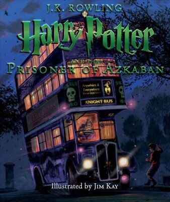 Harry Potter and the Prisoner of Azkaban: The Illustrated Edition by J K...