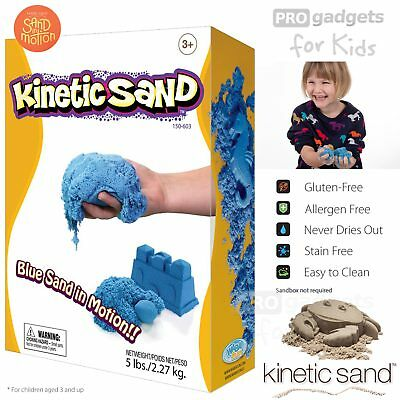 Genuine Kinetic Sand 1 Colours Magic Clay Indoor Play Sand Children Toy 2.27 kg