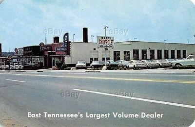 Vintage Advertising Business Card Beaty Chevrolet Knoxville Tennessee Car Dealer