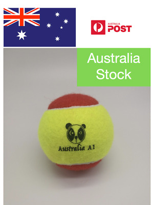 48 Australia A1 Stage 3 Red Low Compression Tennis Balls For Ages 2-8