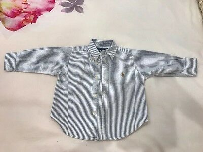 Polo Ralph Lauren Boys Shirt Size 12months