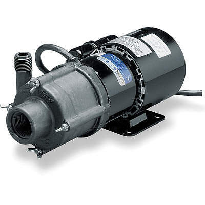 LITTLE GIANT 1/25 HP PPS 115V Magnetic Drive Pump, 16.3 ft. Max. Head, Model TE-