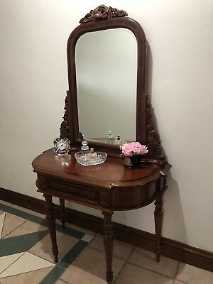 Antique Dressing Table/Hall Stand