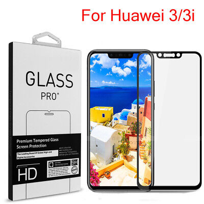 For Huawei Nova 3 3i 9H Full Cover Tempered Glass Screen Protector Guard Film