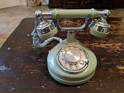 Salvaged Vintage Western Electric Celebrity Rotary Dial Phone