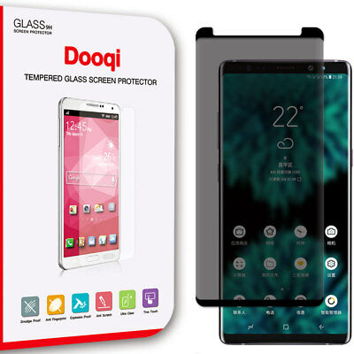 Privacy Tempered Glass Screen Protector FULL COVERAGE For Samsung Galaxy Note 9