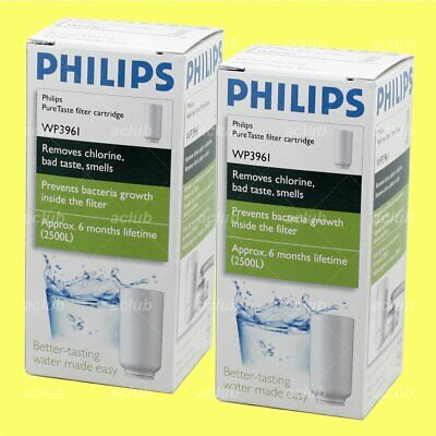 2 x Philips WP3961 Pure Taste Replacement Filter Cartridge for WP3861