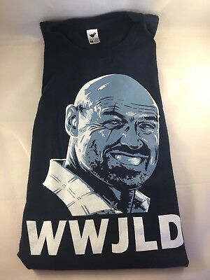 LOST Shirt 'What Would JOHN LOCKE Do?' WWJLD Funny TV Show Character L Tee Fury