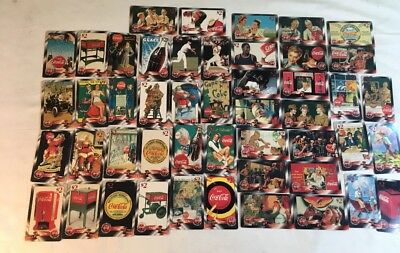 Coca Cola GOLD $2 Phone Card Set 1996 Collectible Christmas Sprint 48 cards