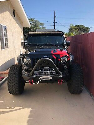 2016 Jeep Wrangler  2016 Jeep Wrangler UNLIMITED RUBICON - FULLY CUSTOMIZED & UPGRADED! L@@K