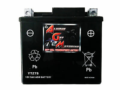 Sealed Agm Agm7Zs (Ytz7S) 12 Volt 6Ah