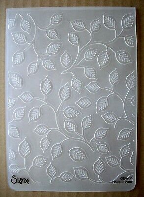 Sizzix - Branches with Leaves Embossing Folder -  Use with Cuttlebug & Sizzix