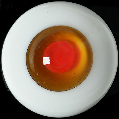 Nice Brown Iris&Red Pupil 16mm Glass BJD Eyes for Joint Reborn 1/4 BJD Dollfie