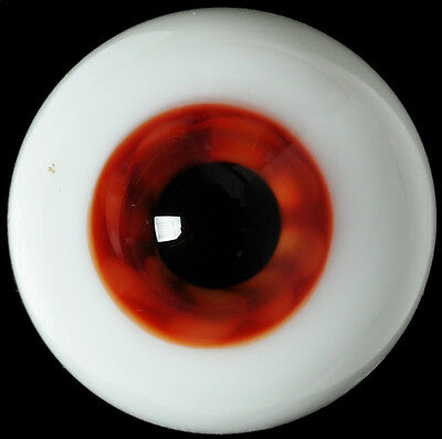 Nice Colorful(Brown)Iris 16mm Glass BJD Eyes for Joint Reborn 1/4 BJD Dollfie