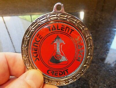 Old Science Talent Search Credit Medallion