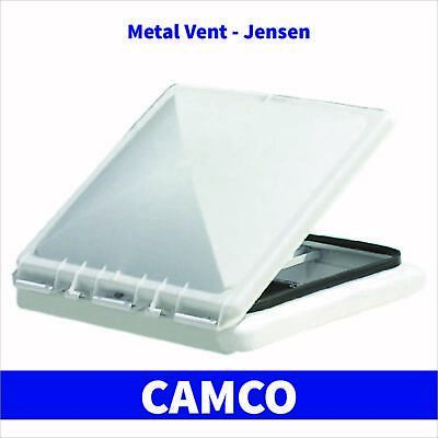 Camco White Vent Lid Cover Ventline Jensen RV Trailer Replacement Roof Part Kit