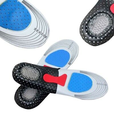 Unisex Memory Foam Orthotic Arch Support Cushion Shoes Boot Insoles Insert Pad
