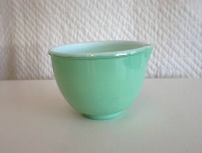 Vintage Small Green Mixing Bowl Sunbeam Mixer?  no brand name