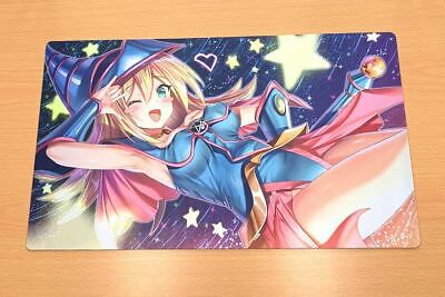 F3062 Free Mat Bag Yugioh Trading Card Game Playmat Dark Magician Girl Play Mat