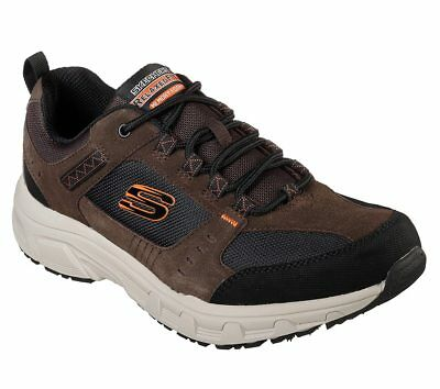 Skechers Status Borges Mens Memory Foam Canvas Relaxed Fit Shoes Trainers UK6 12