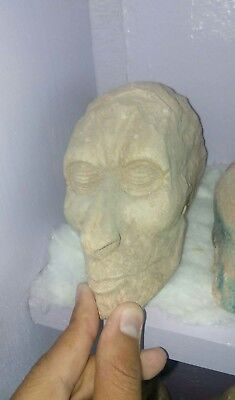 Rare Antique Ancient Egyptian limestone Head of Ramses II mummy bc