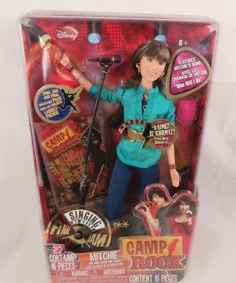 Demi Lovato Doll as Disney's Camp Rock Mitchie Doll 16 Accessories New Sealed