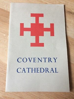 Coventry Cathedral Colour History Booklet 1962