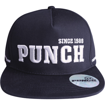 PUNCH Official Flat Brim Circa 1989 Cap