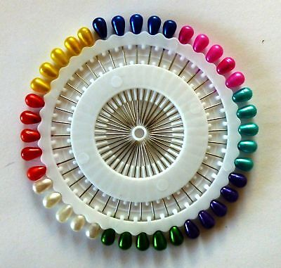 Best Hijab Pins (40) Assorted Colors Small for Islamic Hijab - Pins length 1.5""