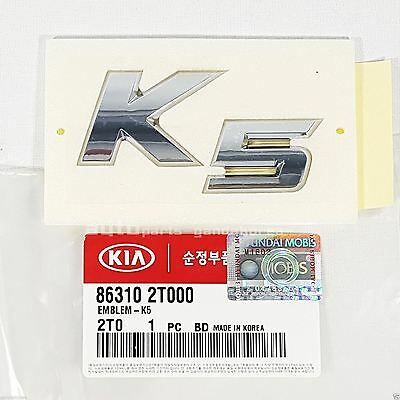 "Genuine Kia OEM NEW Emblem  /""SX T-GDI/""  Nameplate 2011-2013 Kia Optima 86317-2T0"