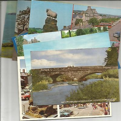 8 Postcards & 2 Lettercards Of Dumfries And Galloway, Scotland